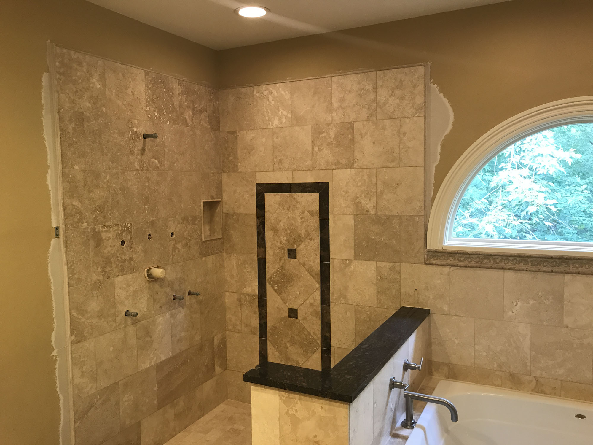 Shower remodeling schaumburg sunny construction for Bathroom remodel schaumburg il