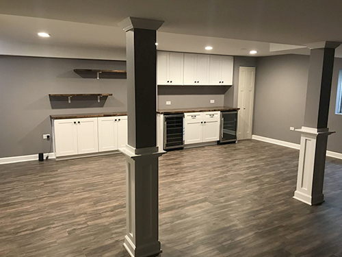 Basement Remodeling Contractors in Schaumburg & Other Areas of Chicago, IL