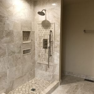 Shower remodeling Schaumburg Illinois