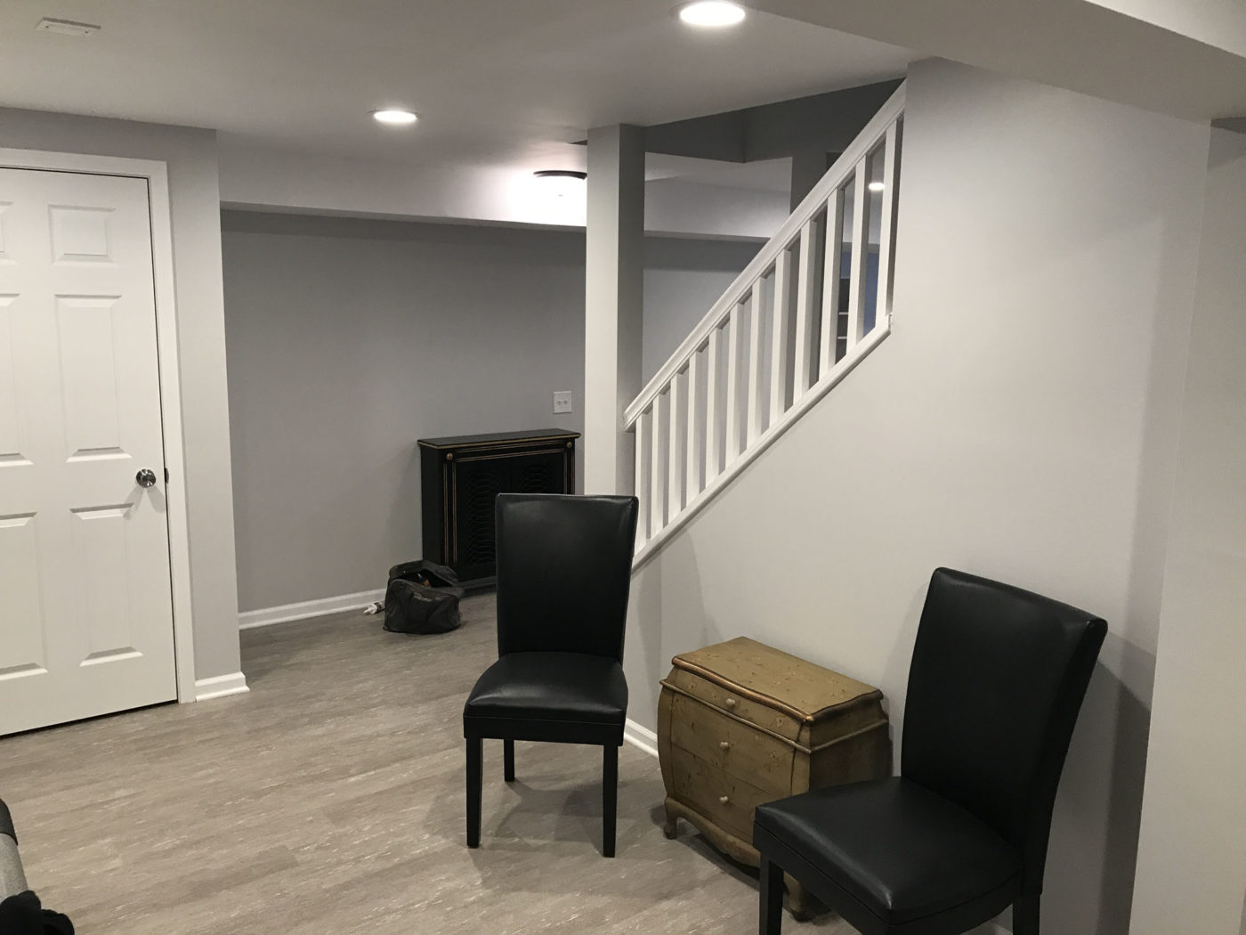 remodeled basement in Roselle IL