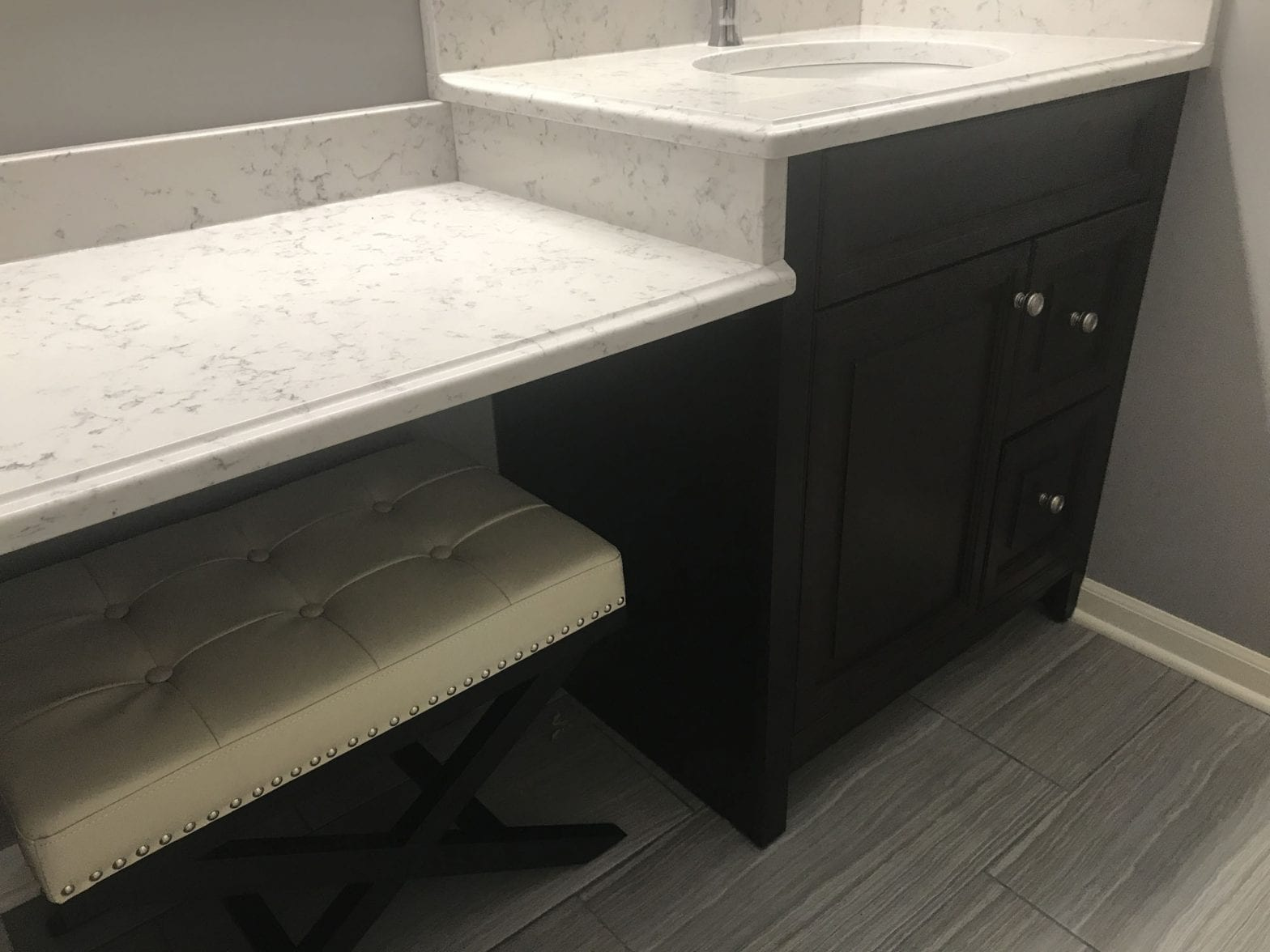 Bathroom Remodeling Wauconda new countertops