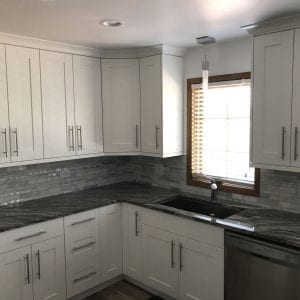 Kitchen Remodeling Schaumburg new cabinets, backsplash, countertops
