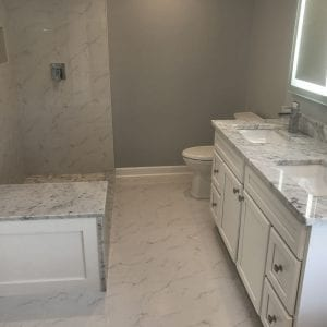 Bathroom Remodeling In Hoffman Estates - granite countertops