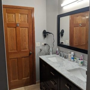 Bathroom Remodeling Hoffman Estates - granite countertops, new cabinets