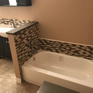 Bathroom Remodeling In Hanover Park - modern tile