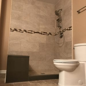 Bathroom Remodeling In Hanover Park - shower remodeling