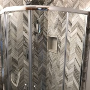 Hoffman Estates Powder Room remodeling