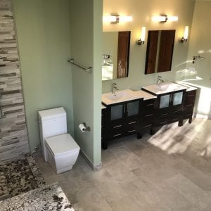Master Bathroom Remodeling In Hoffman Estates - new shower and tiling