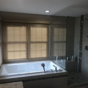 Master Bathroom Remodeling Schaumburg - new jacuzzi tub and shower