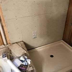 Shower Remodeling in Barrington