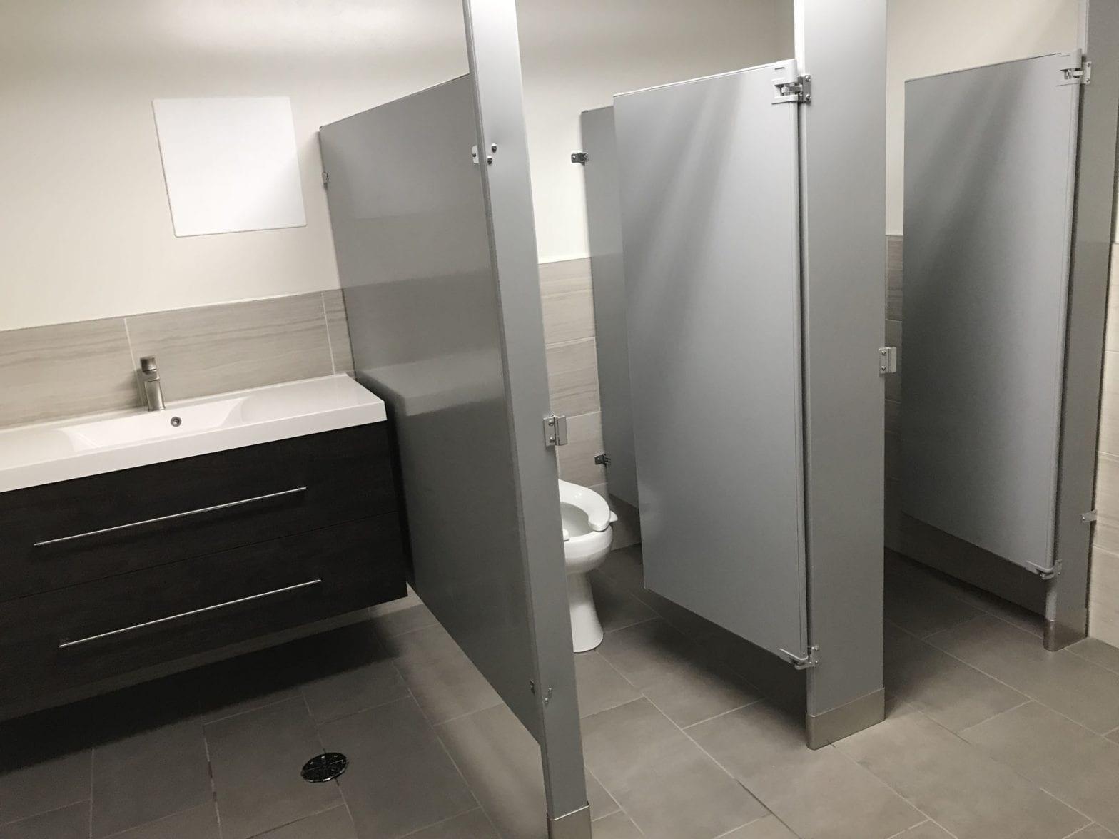 Commercial Property Bathroom remodeling in Elk Grove Village
