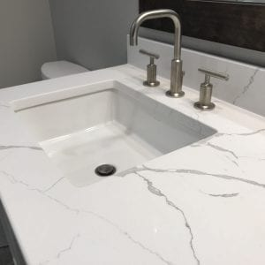 Master Bathroom Remodeling in Morton Grove - new sink and countertops