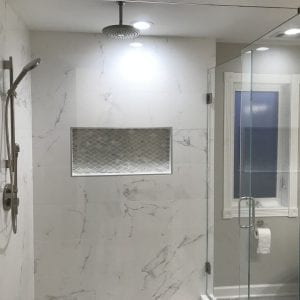 Master Bathroom Remodeling in Morton Grove - new shower