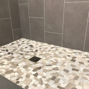 Shower Remodeling in Carol Stream IL - new tile