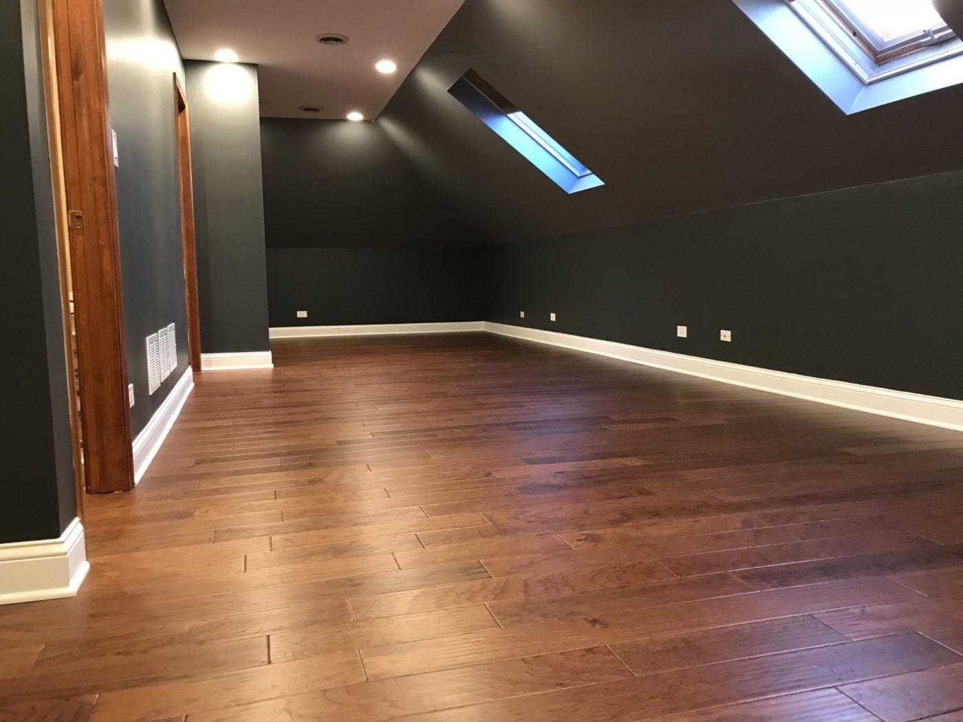 Bathroom Remodeling in South Barrington - hardwood flooring