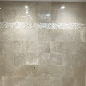 Bathroom remodeling in East Dundee - new shower