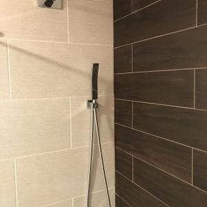 Bathroom remodeling in Schaumburg - new shower