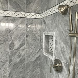 Master bathroom remodeling in Hoffman Estates - new shower