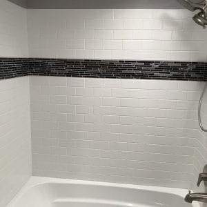 Bathroom remodeling in Schaumburg - new shower, tile