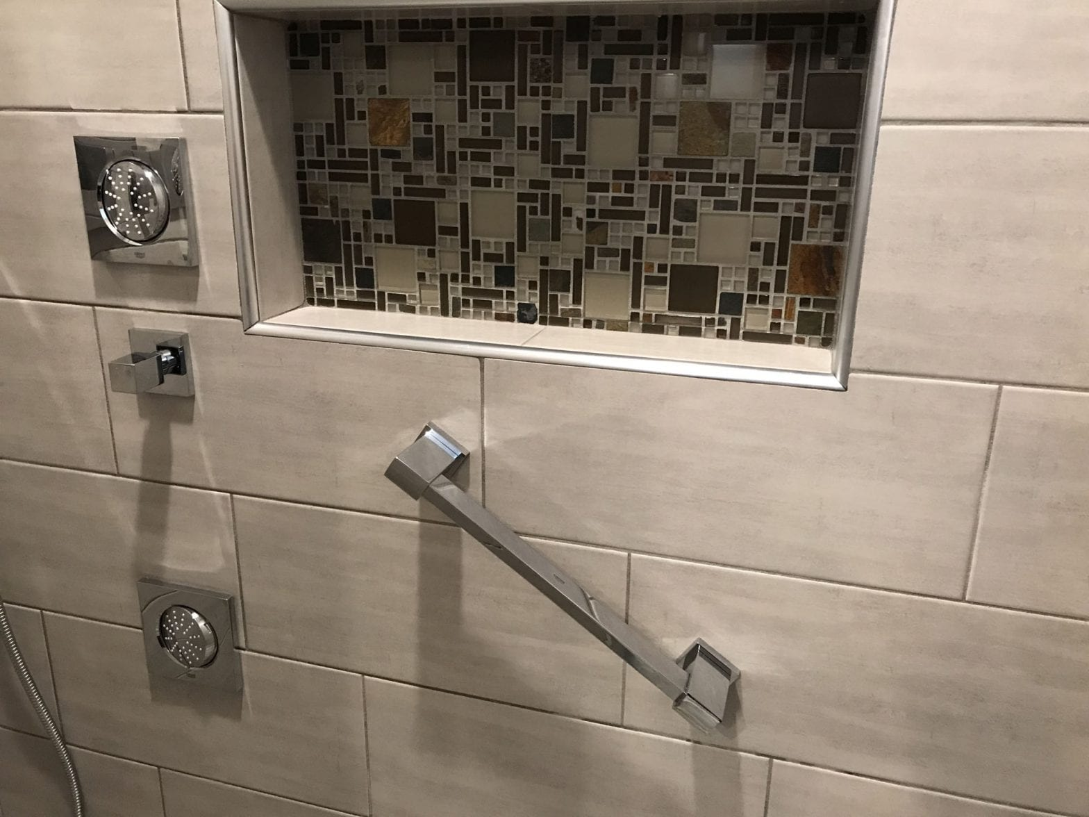 Bathroom remodeling in Bartlett - new shower