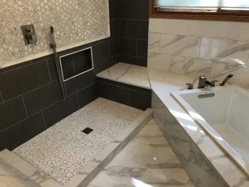 Master bathroom remodeling in Hoffman Estates