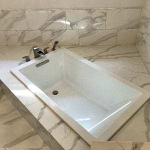 Master bathroom remodeling in Hoffman Estates -new tub and tile