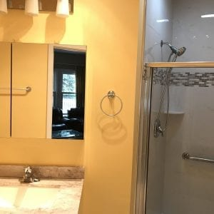 New bathroom in Elk Grove Village