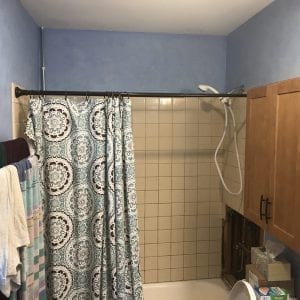 Bathroom needs remodel