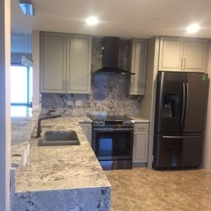 Kitchen remodeling - granite and stone countertops and flooring