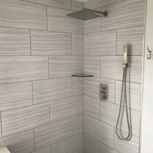 Bathroom Remodeling in Carpentersville - new shower and tile