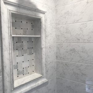 Bathroom Remodeling in Hinsdale - new shower