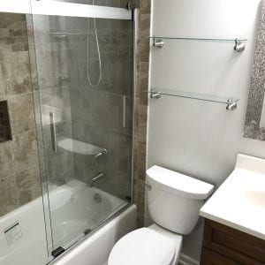 Bathroom Remodeling in Mundelein - shower tile