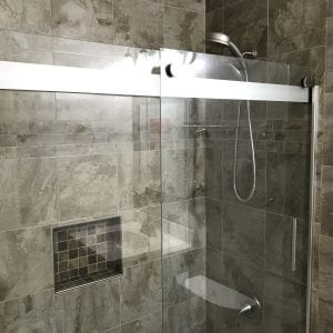 Bathroom Remodeling in Mundelein - natural stone tile
