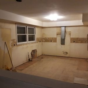 Kitchen Remodeling in Schaumburg - in progress