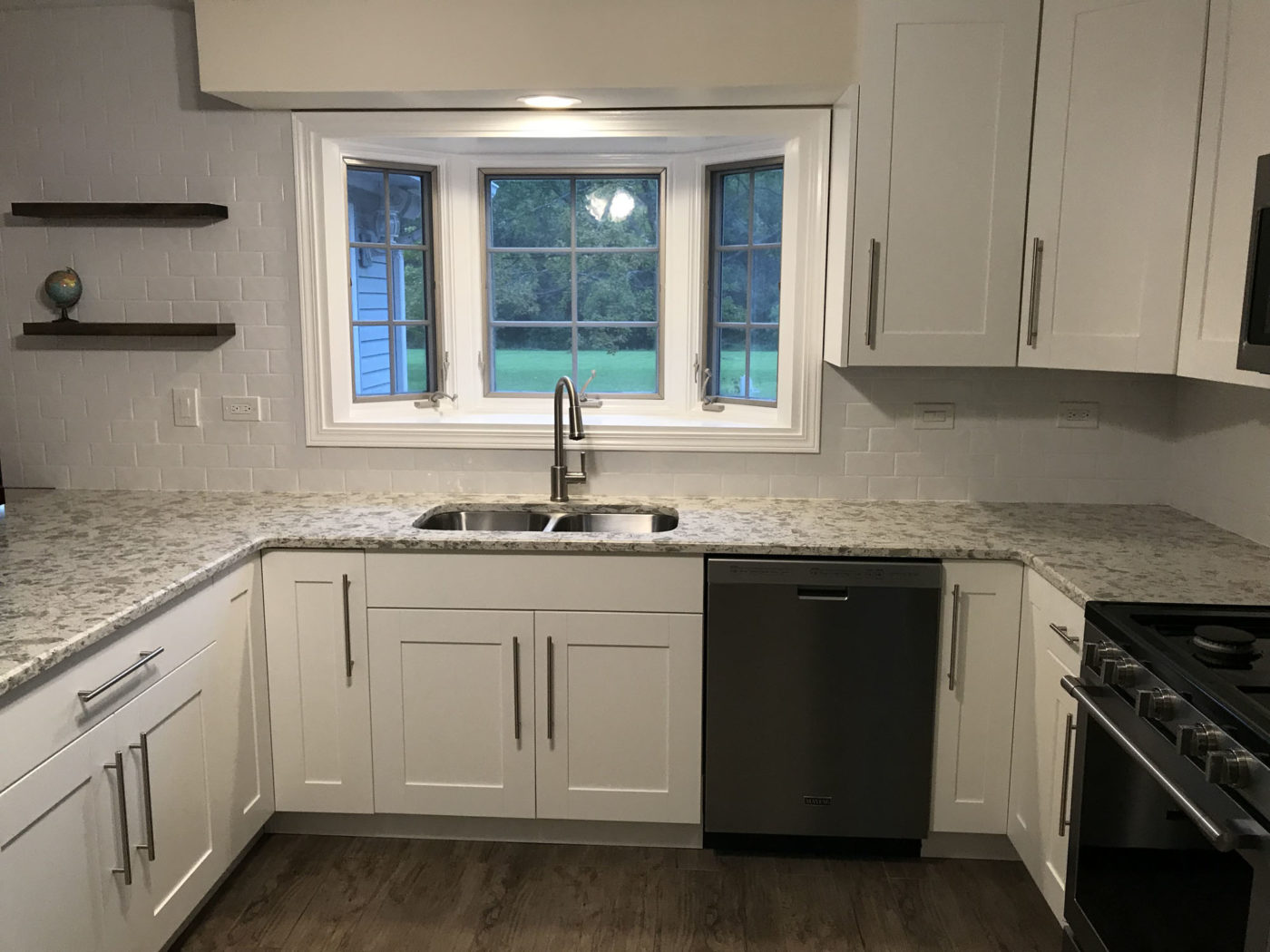 Kitchen Remodeling in Elk Grove Village, natural stone counters