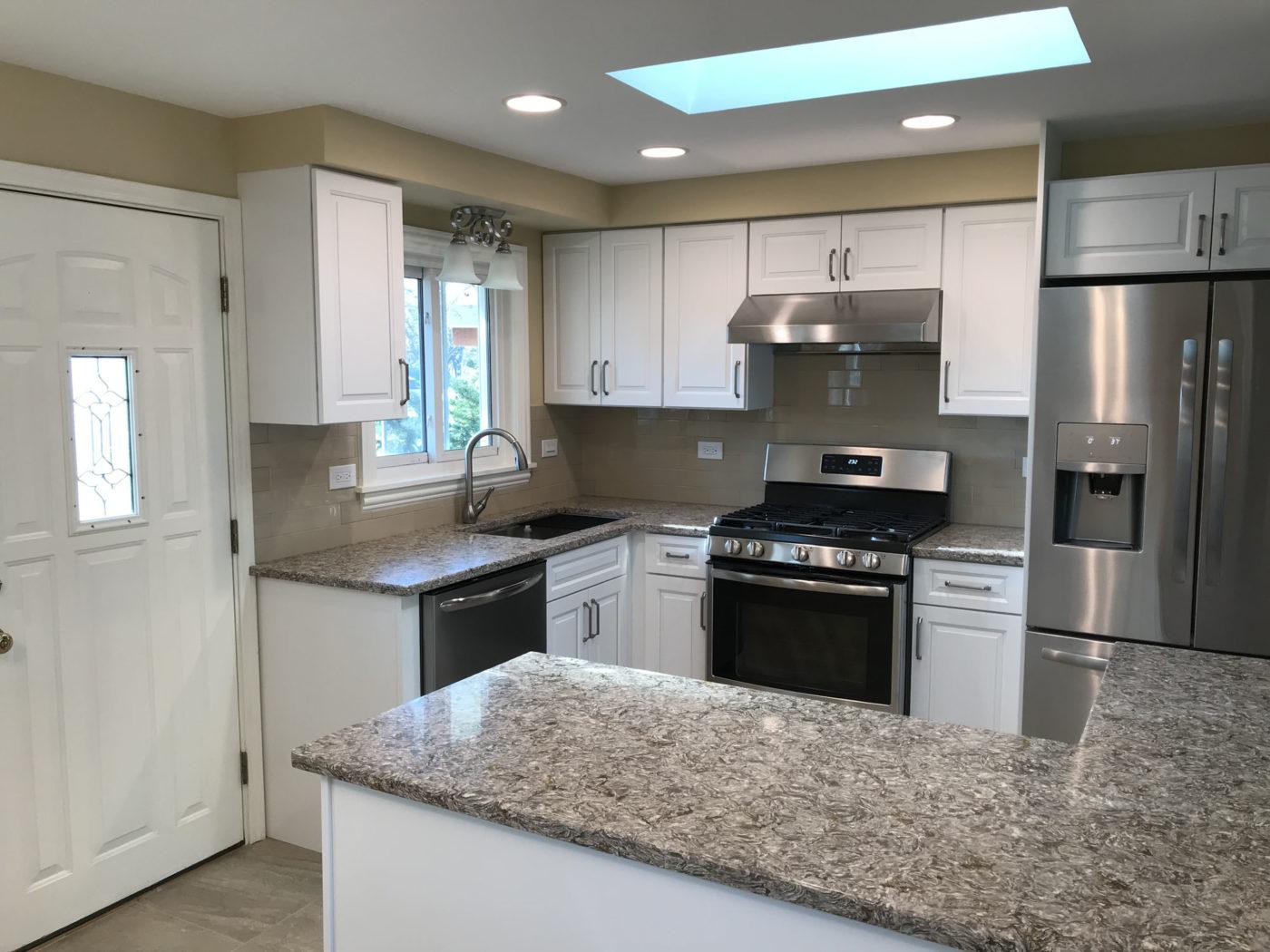 Newly remodeled kitchen Schaumburg IL