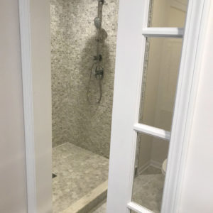 Bathroom renovation in Northbrook, Illinois