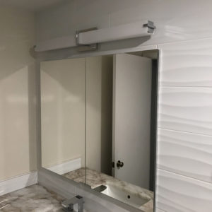 Remodeled bathroom in Park Ridge IL, bathroom vanity