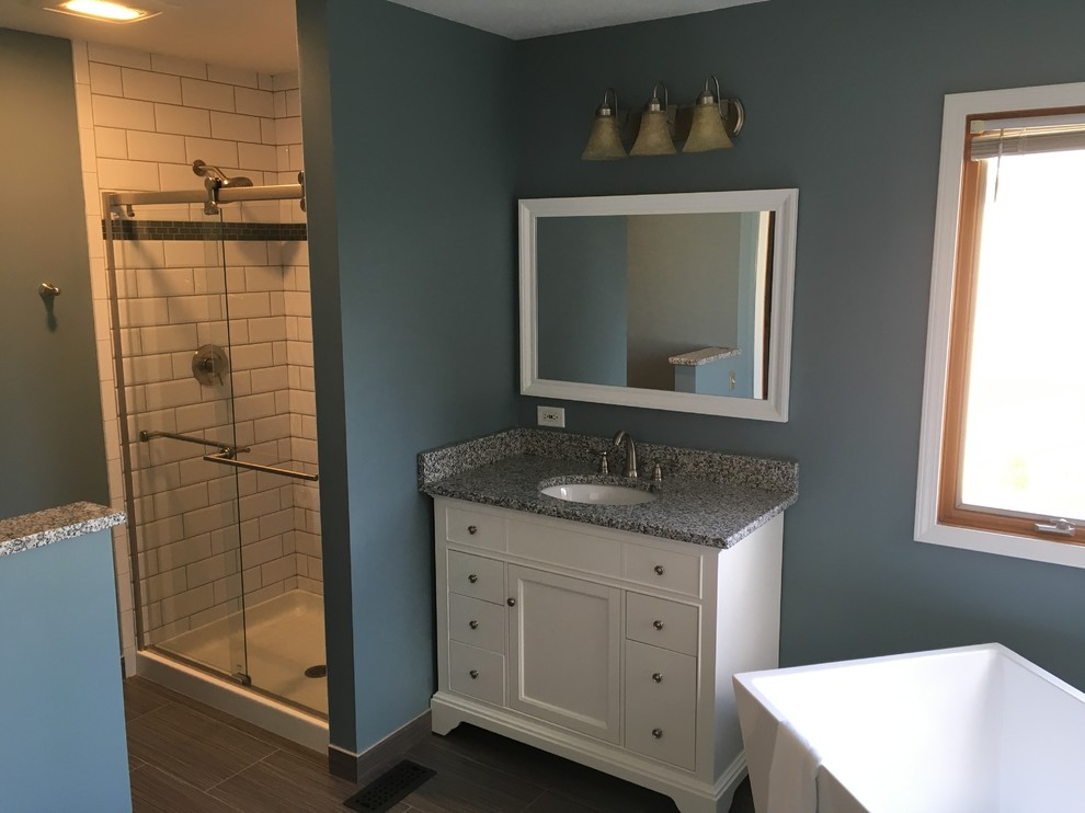 remodeled bathroom in Roselle IL