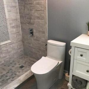Bathroom remodeling project in Hoffman Estates
