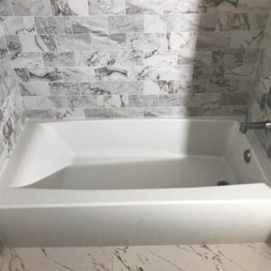 Bathroom remodeling project from the Northwest Chicago suburbs