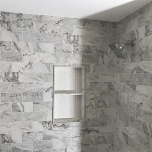 Bathroom remodel from the Northwest Chicago suburbs
