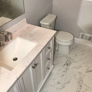 Bathroom remodel in the northwest Chicago suburbs